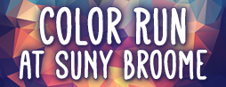 Color Run at SUNY Broome
